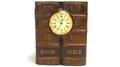 ゴルフ ブック型時計付きペン立て HOOK SLICE SGD168