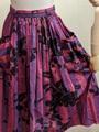 1950'sマルチストライプ×花柄スカート PS04