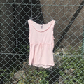courrèges pink lovely tank top