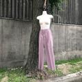 dusty pink tack pants