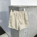 ISLANDER shiny beige short pants