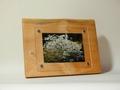 天然木フォトフレーム L版サイズ No.11 ミズキの木製写真立て