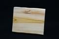 筆文字で書いた天然木サンクスボードNo.12 欅の天然木