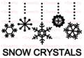SNOW CRYSTALS A5サイズ