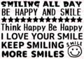 smile words A6サイズ