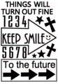 KEEP SMILE→ A6サイズ