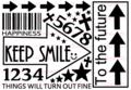 KEEP SMILE→ A5サイズ