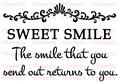 SWEET SMILE A6サイズ