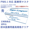 医療用欧米規格マスク(青)40箱
