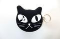 黒猫 WET COIN POUCH