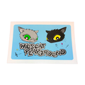 CAT-LOGO STICKER【WILDCAT】