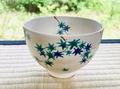 夏の抹茶碗「青楓」