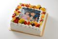 写真ケーキSサイズ(生クリーム)