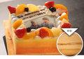 写真ケーキDXサイズ(レアチーズ)
