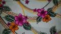 パンツ付きスカート / 手作りキット 型紙付き / 白地ハイビスカス