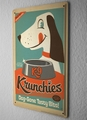 K-9Krunchies tinサイン