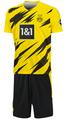 ドルトムントホーム20/21・半袖 2020年~2021年モデル レプリカサッカーユニフォーム