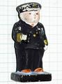 土人形 海軍将校