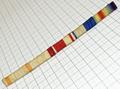 略綬板 5連重縫