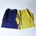 スーピマコットン天竺ボートネック7分袖Tシャツ 1812517 日本製 SORTE ソルテ