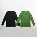 リラックスコットンテレコクルーネックTシャツ 1912563 日本製 SORTE ソルテ
