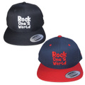 ROCK ONE'S WORLD ロックワンズワールド LOGO SNAPBACK CAP