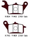 HD183(A61-036HN) ノンアスベスト二輪パッド NTB