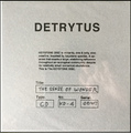 "Detrytus""The Sense of Wonder""(keystone disc)CD"