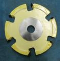 木村刃物 飾面カッター ひょうたん面 2分(左) 昇降盤用