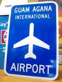 【30%OFF!!】AIRPORT STREET SIGN~GUAM AGANA~
