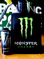 MONSTER ENERGY ALMINIUM SIGN 2 SIDED