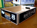 【20%OFF!!】WOOD CRATE BOX~ROUTE66~