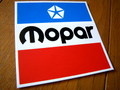 RACING STICKER~MOPAR~