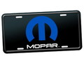 MOPAR OFFICIAL LICENSE PLATE~BLACK~