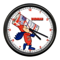 WALL CLOCK~BUD MAN~
