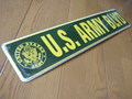 STREET SIGN~U.S. ARMY BLVD~