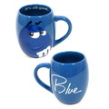 M&M'S ROUND 19oz MUG~BLUE~