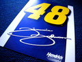 METAL SIGN~NASCAR#48 JIMMY JOHNSON~