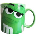 M&M'S BIG MUG~GREEN~
