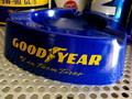 TRIANGLE PLASTIC CAFE ASHTRAY~GOOD YEAR~