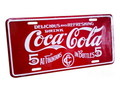 COCA COLA COMMERCIAL PLATE~B~