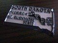 U.S.A.STATE MAGNET~SOUTH DAKOTA~