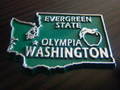 U.S.A.STATE MAGNET~WASHINGTON~