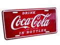 COCA COLA COMMERCIAL PLATE~A~