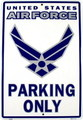 U.S.AIR FORCE PARKIN PLATE~S~