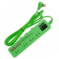 MERCURY 4 POWER EXTENSION CORD~GREEN~