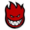 SPITFIRE WHEELS BIGHEAD STICKER~RED~