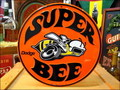 ROUND SIGN PLATE~Dodge SUPER BEE~