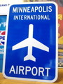 【30%OFF!!】AIRPORT STREET SIGN~MINNEAPOLIS~
