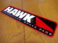 RACING STICKER~HAWK~